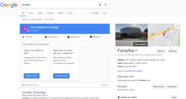 Forsythe Search