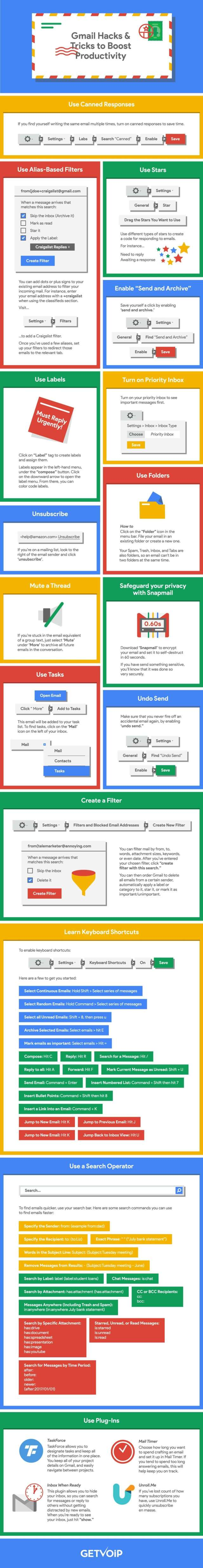 Gmail Tips Infographic compressed